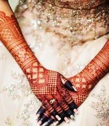 Bridal Mehandi Back