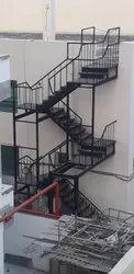 Iran Iron Staircase