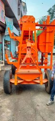 Diesel Powered Concrete Mixer Machine