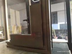 Aluminum casement Window, Size/Dimension: 3 X 5 Feet