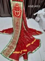Cotton Marwadi Patch Stole