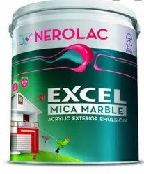 High Gloss Nerolac Emulsion Paints, For Exterior, Packaging Size: 20ltrs