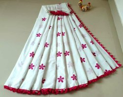 Mulmul Cotton Printed Sarees
