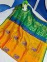 Uppada Soft Silk Buta Work Sarees