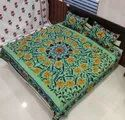 Embroidered Double Bedsheets