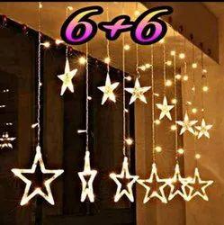 White Star Led Lights, For Decoration