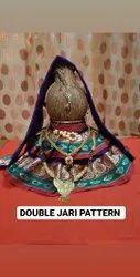 Half round Handicraft Items, For Home, Kalash Sarees