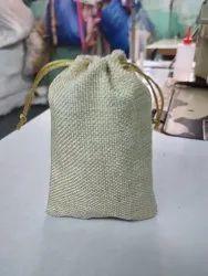 Packaging Bags Golden Jute Potli Bag