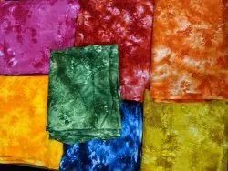 Rayon Slub Tie Dye Fabric