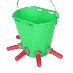 Plastic Calf Feeding Bucket