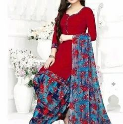 Casual Wear Patiala salwar suit