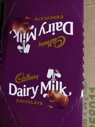 Choclate Brown Cadbury Dairy Milk Chocolate, Packaging Type: Plastic Packaging