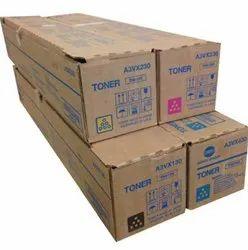 Konica Minolta Genuine TN619 4 Pack CMYK Colors
