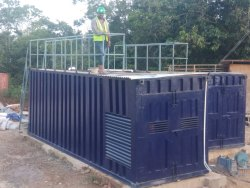 1kW Containerized Sewage Treatment Plant