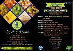 Basic Indian Tiffin Catering Service, in Mumbai Only