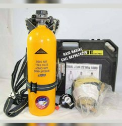 Emergency Use Aluminium Scott 2.2 Breathing Apparatus Max Working Pressure 153 Bar