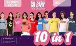 GO BABY Girls T Shirt