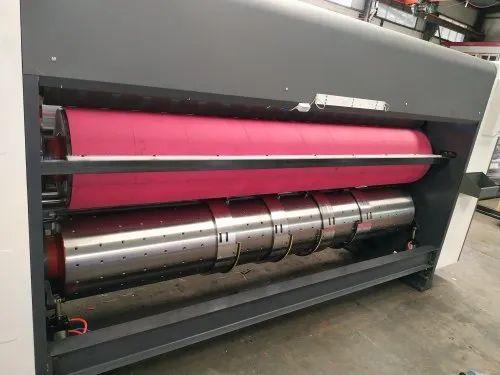 Multi color flexo Printer Slotter Die Cutter