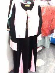 Wollen partywear dress