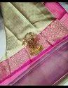 Hand Woven Tanchoi Banarasi Silk Saree