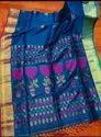 Mercerized Linen Jamdani Saree