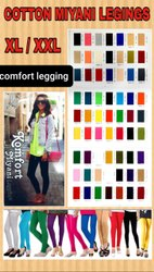 Nada Miyani Legging , Ladies Cotton Hosiery Legging , Women Chudidar Legging , Knot Legging
