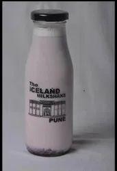 White Glass Milkshake Bottles custom print, Location: Hyderabad, Size: 300