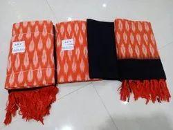 Pochampally Ikkat Cotton Dress Material