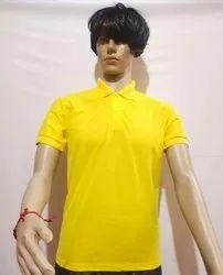 G Sports Matte Mens Half Sleeve Polo T Shirt, Size: Medium