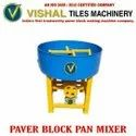 3 HP Paver Block Pan Mixer