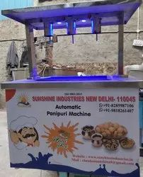 Automatic Pani Puri Making Machine
