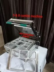 5 And 8 Two In One Combo Tray Sealing Machine