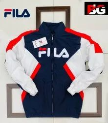 Full Sleeve Wind Cheaters Fila Brand Jacket