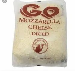 Gowerdhan Type: Box Go Mozzarella Cheese Diced, Packaging Size: 2kg, Packaging Type: 2 Kg