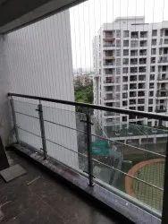 Invisible Balcony Grill