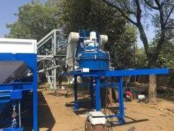 Semi-Automatic Ready Mixed Concrete Mixing Plant