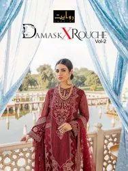 Unstitched Unstitch Pakistani Suits, Dry clean