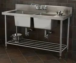 Jindal steel Stainless Steel 304 Gared Wash Beshin, For Hotel