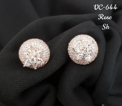 American Diamond Stud Earring