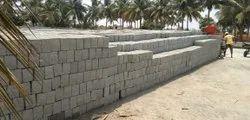 Concrete Rectangular 6 Inch Solid Block