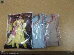 Fashion Chanderi Designer Straight Suits, Machine Wash
