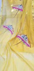 Silk Hand Painted  Ladies Suits