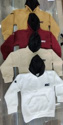 Full Sleeve Hoodie Sherpa Jacket, Size: XL