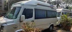 9 Seater Tempo Traveller Rental