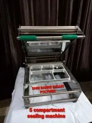 SBBP 5 Compartment Tray Sealing Machine