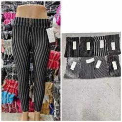 Heena Brand Imported Lycra Imp Stretchable Lining Pant , Ladies Legging, 200