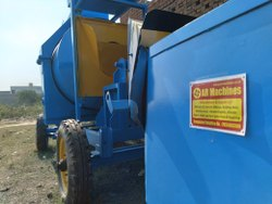 Electric Engine R M 800 Reversible Mixer Machine, For Construction, Drum Capacity: 800kg