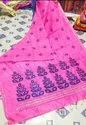 Cotton Handloom Silk Thread Work Sarees