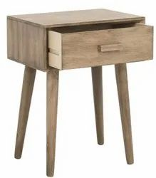 Wooden Modern Bedside Table, For Hotel, Number Of Drawer: 20X16X18