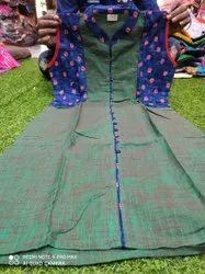 Designer XXXL Cotton kurti, Wash Care: Handwash